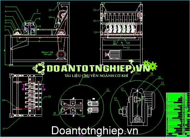 NGHIÊN CỨU DÂY CHUYỀN CHẾ BIẾN HẠT ĐIỀU THIẾT KẾ MÁY, thuyết minh, động học máy, kết cấu máy, nguyên lý máy, cấu tạo máy, quy trình sản xuất