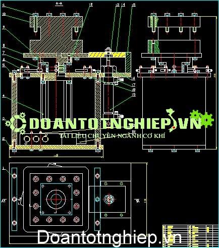 THIẾT KẾ MÔ HÌNH XOAY DAO MÁY TIỆN TỰ ĐỘNG , thuyết minh, động học máy, kết cấu máy, nguyên lý máy, cấu tạo máy, quy trình sản xuất