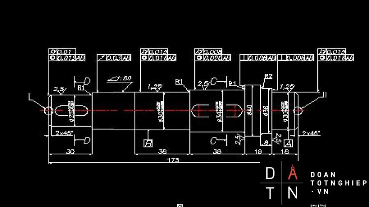 ĐỒ ÁN MÔN HỌC CHI TIẾT MÁY TÍNH TOÁN Thiết kế dẫn động băng tải (xích tải) giảm tốc bánh răng trục vít