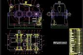 Đồ án thiết kế sản phẩm với CAD Hộp giảm tốc trụ 2 cấp trục dẫn đường kính O40