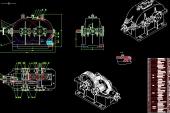 Đồ án thiết kế sản phẩm với CAD Hộp giảm tốc côn trụ 2 cấp trục dẫn đường kính O85