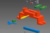 Thiết kế cơ cấu kẹp bằng cam lệch tâm trên phần mềm 3D Inventor