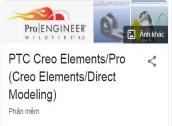 THIẾT KẾ BÀI TẬP CAD CAM CNC trên PRO E PTC Creo Elements/Pro (Creo Elements/Direct Modeling)