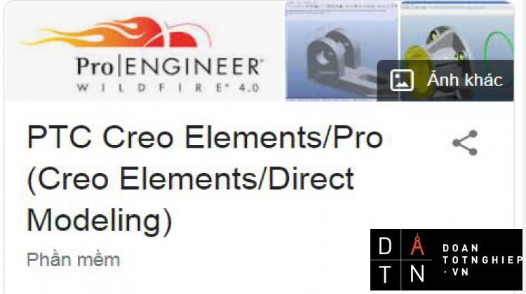 Phương pháp phay Volume trên PRO E PTC Creo Elements/Pro (Creo Elements/Direct Modeling)