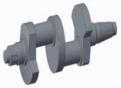 THIẾT KẾ QUY TRÌNH CÔNG NGHỆ GIA CÔNG CHI TIẾT TRỤC KHUỶU 2 3D phần mềm CREO