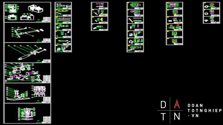 ĐỒ ÁN TỐT NGHIỆP Tính toán, thiết kế máy làm ly giấy đựng nước (bao gồm quy trình công nghệ dạng trục)