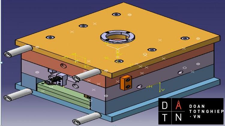 ĐỒ ÁN Thiết kế khuôn ép phun bánh răng  và xây dựng mô hình rôbôt gắp sản phẩm