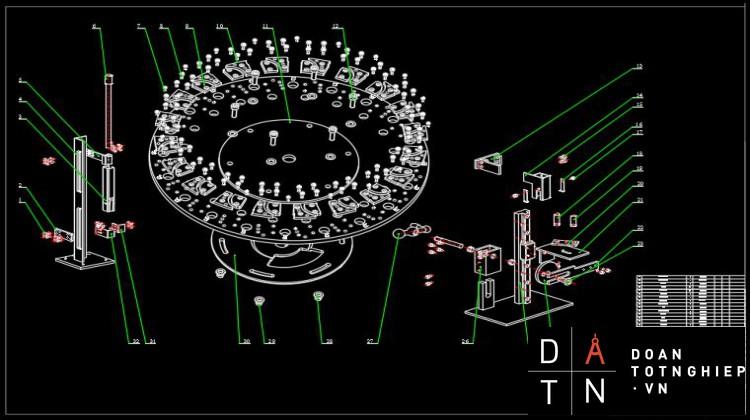 ĐỒ ÁN TỐT NGHIỆP Thiết kế và chế tạo cơ khí thiết bị cấp, thu niêm tự động cho máy khắc laser niêm phong kẹp chì nhựa 6 ngạnh