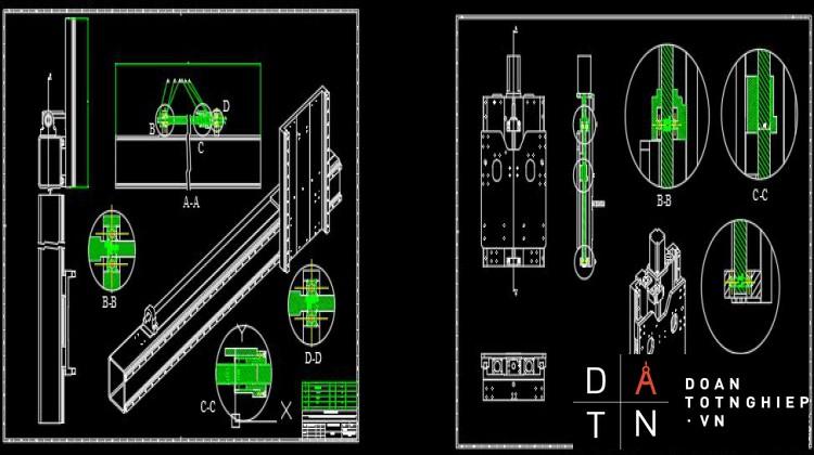ĐỒ ÁN TỐT NGHIỆP Thiết kế, tích hợp và chế tạo máy Phay CNC 4 trục 2 đầu tượng kết hợp đục phẳng