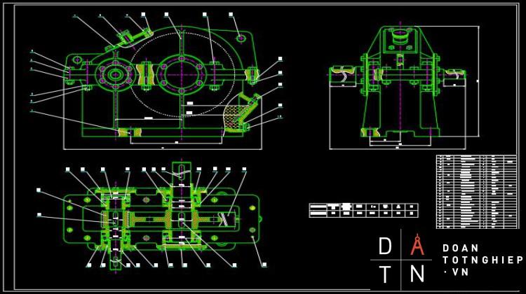 Đồ án cơ sở chi tiết máy HỘP GIẢM TỐC 1 CẤP BÁNH RĂNG NGHIÊN F=8250 Lực kéo băng tải V=0,35 m/s Vận tốc băng tải