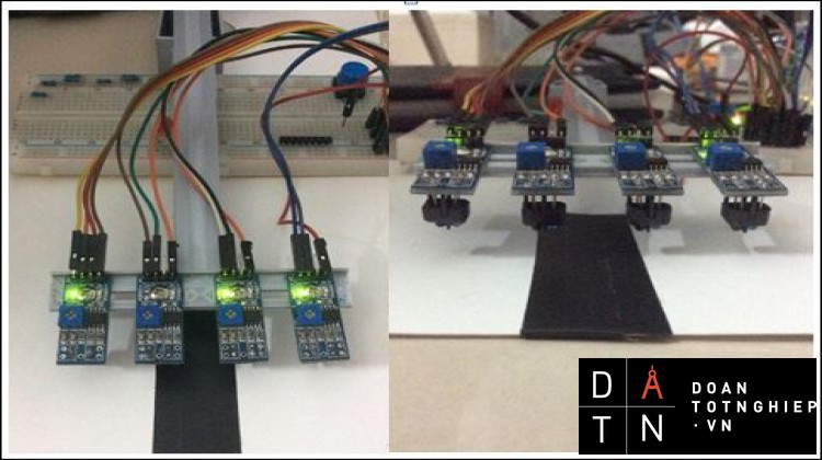 đồ án cơ điện tử robot dò line ( tiếng Anh )