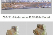 LUẬN VĂN THẠC SĨ Nghiên cứu ảnh hưởng của dao động đầu hàn, góc nghiêng mỏ hàn đến hình dáng bên ngoài của mối hàn trong liên kết hàn góc