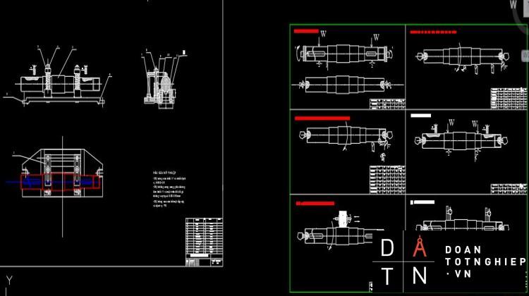 Thiết kế quy trình công nghệ gia công chi tiết trục có then 2 đầu
